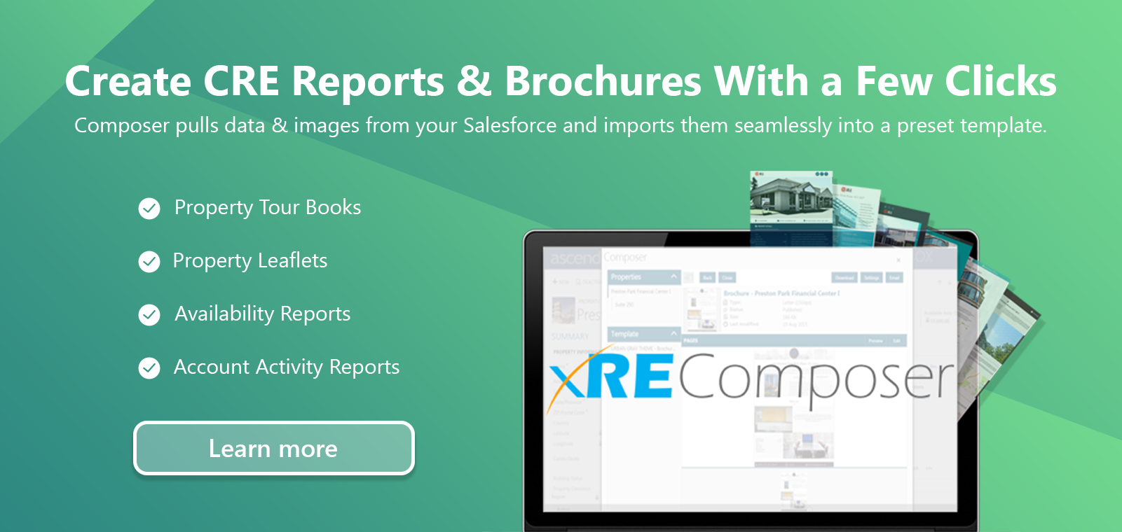 Ascendix Composer: Report Builder for Salesforce