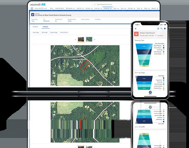 AscendixRE Land CRM Software for land brokers
