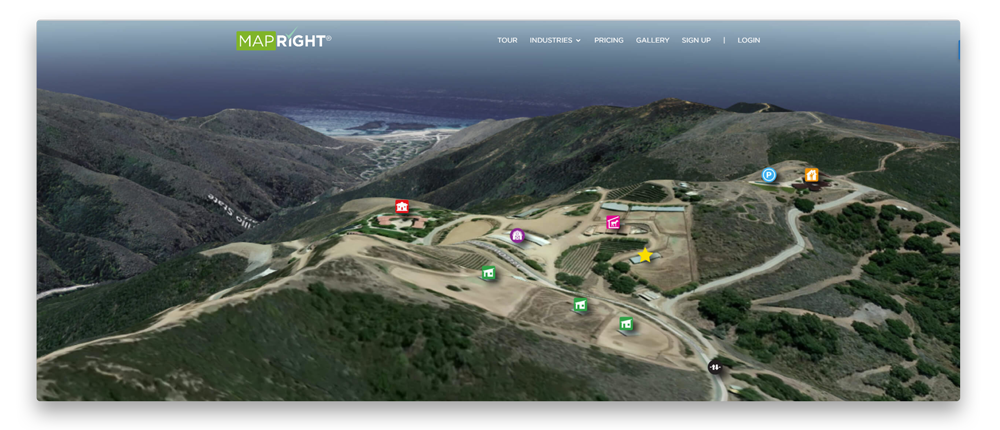 MapRight: web and mobile mapping platform