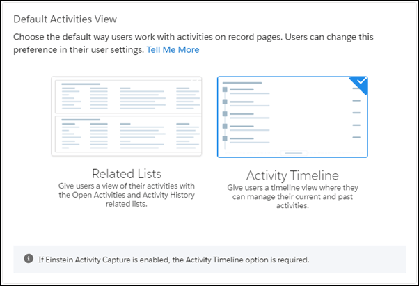 record page activity view settings salesforce summer 19 release notes