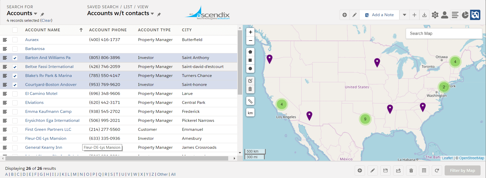 Ascendix-Search-app-for-Salesforce-highlighting-feature