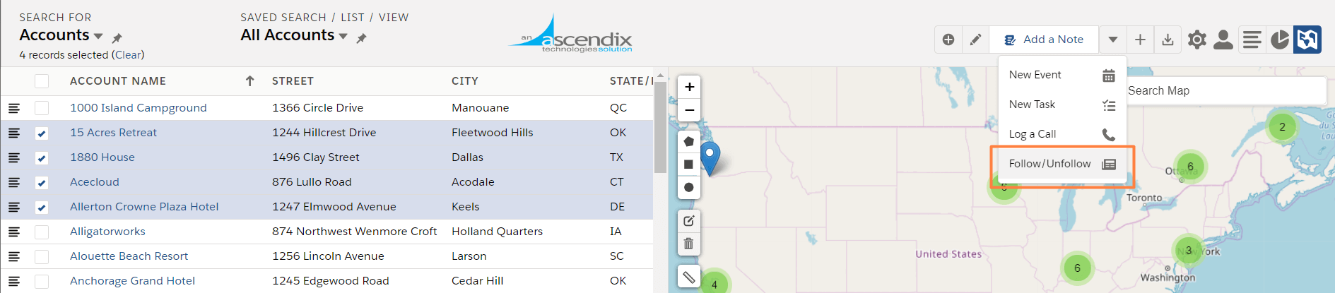 Ascendix-Search-for-Salesforce-mass-follow-unfollow