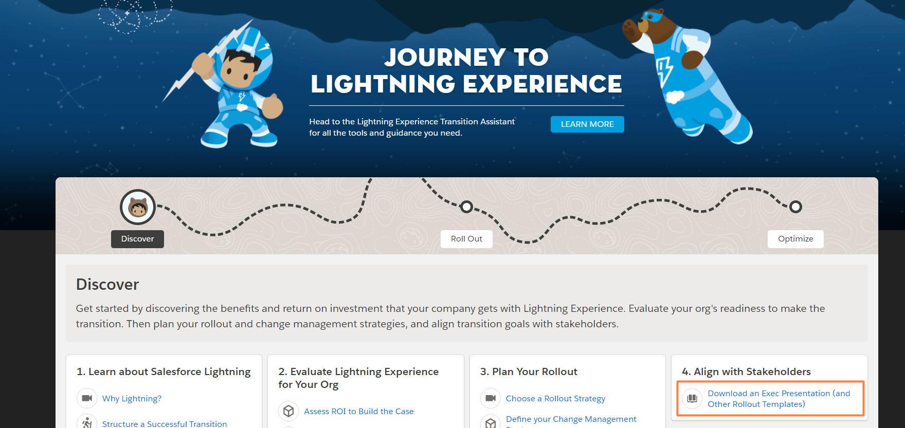 Salesforce-Lightning-Rollout-Templates