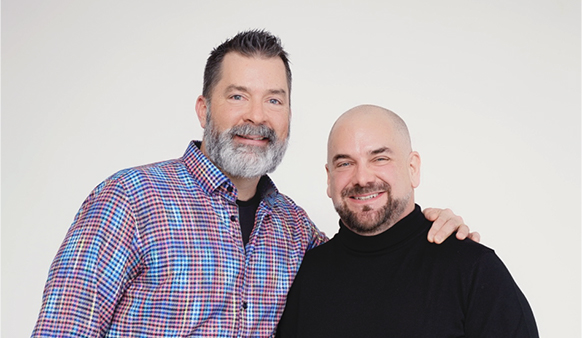 Wes Snow and Todd Terry, co-founders of Ascendix Technologies