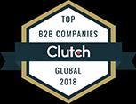 Clutch 2018 award