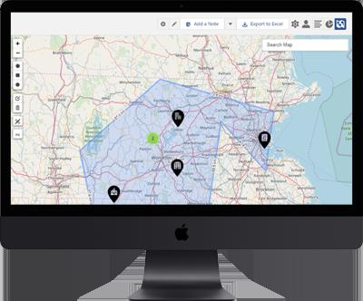 Ascendix Search Geo Mapping Tool Case Study | Ascendix