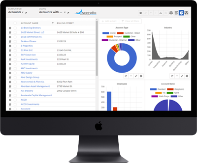 Ascendix Search Charts and Graphs Functionality Case Study | Ascendix