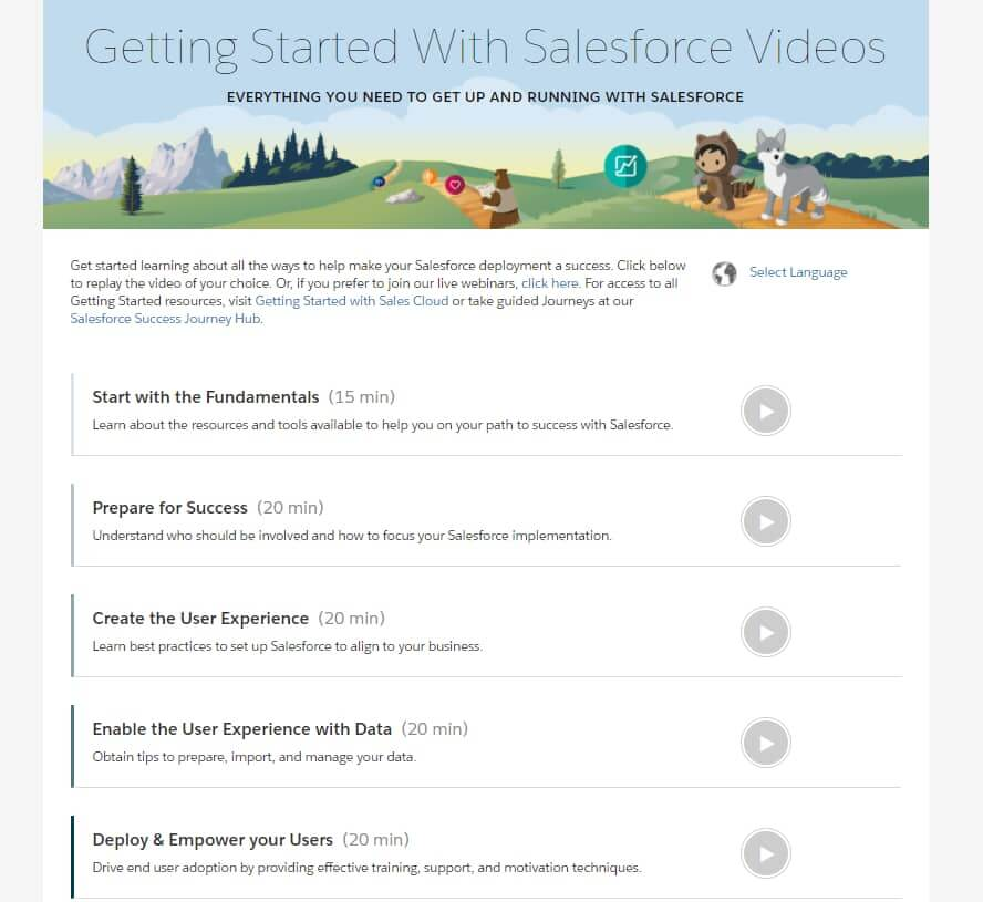 Getting-Started-with-Salesforce-Video-Set