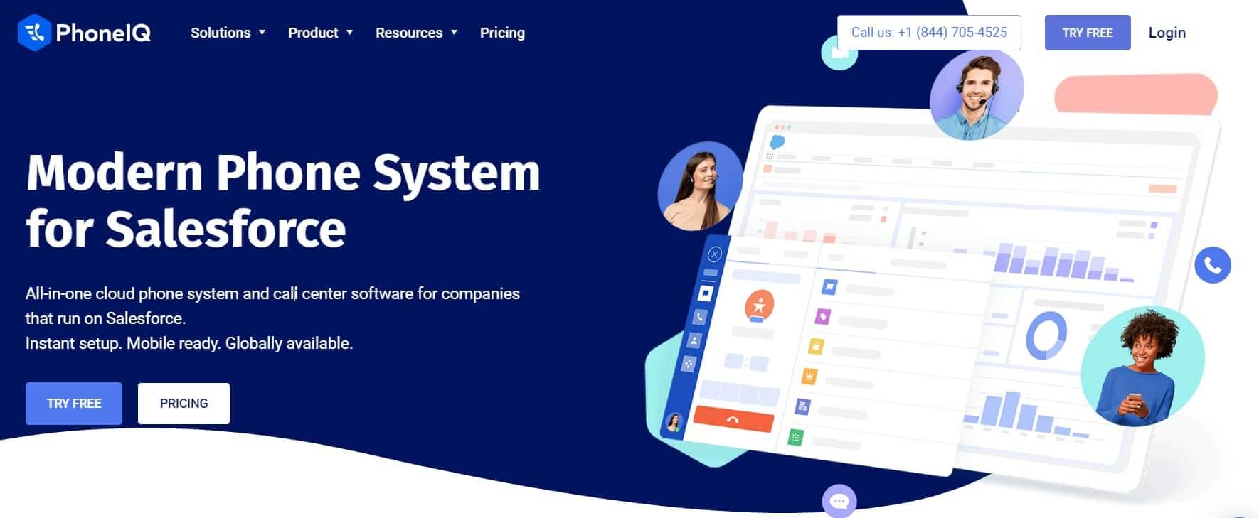 PhoneIQ-Salesforce-Telephony-App
