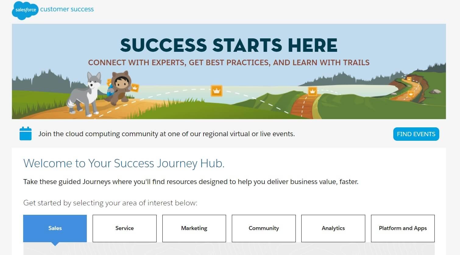 Salesforce-Success-Journey-Hub