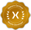 Xamarin certificate award Ascendix Tech