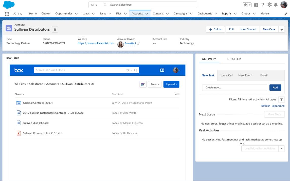 Salesforce Box Integration Guide Ascendix