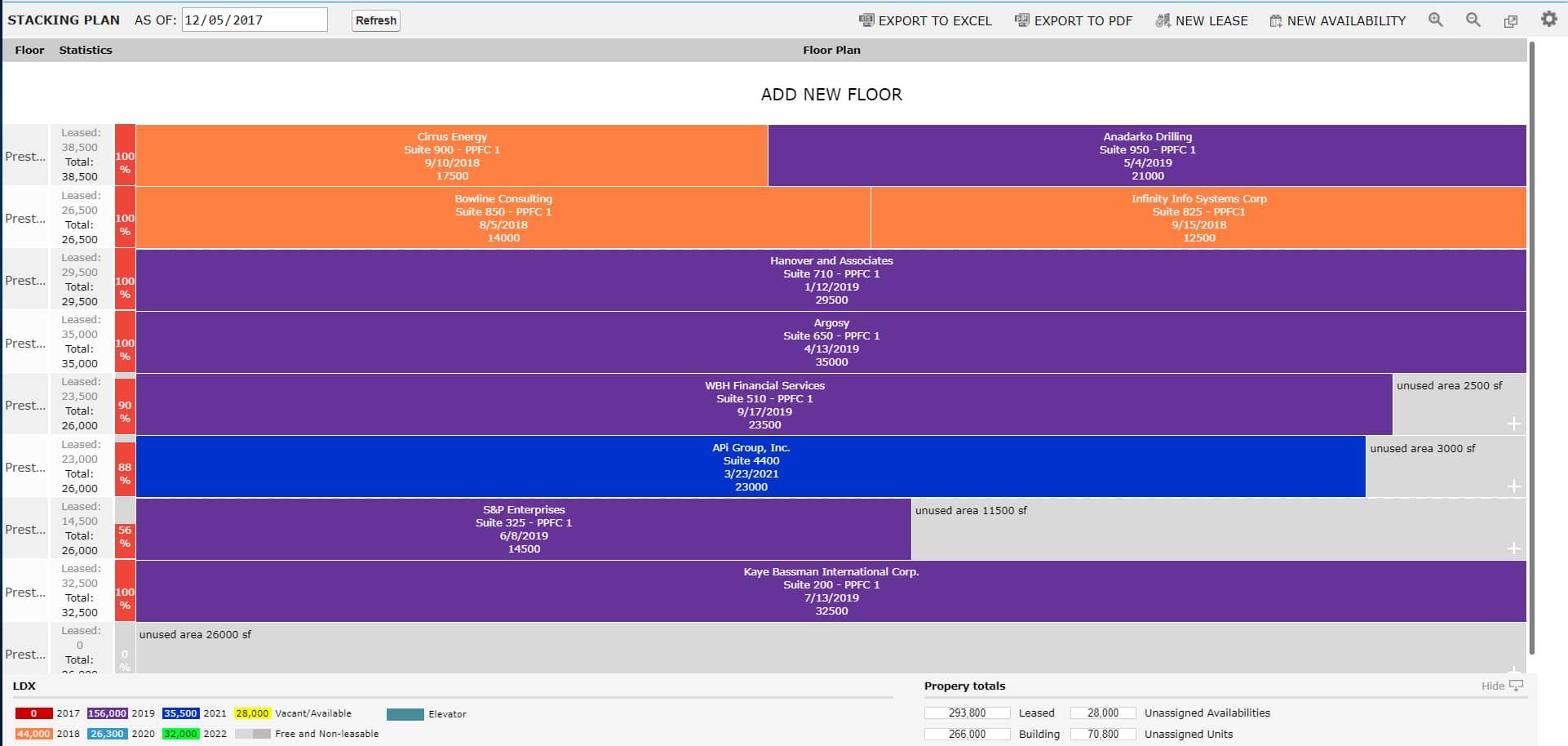 AscendixRE-CRM-Stacking-Plan