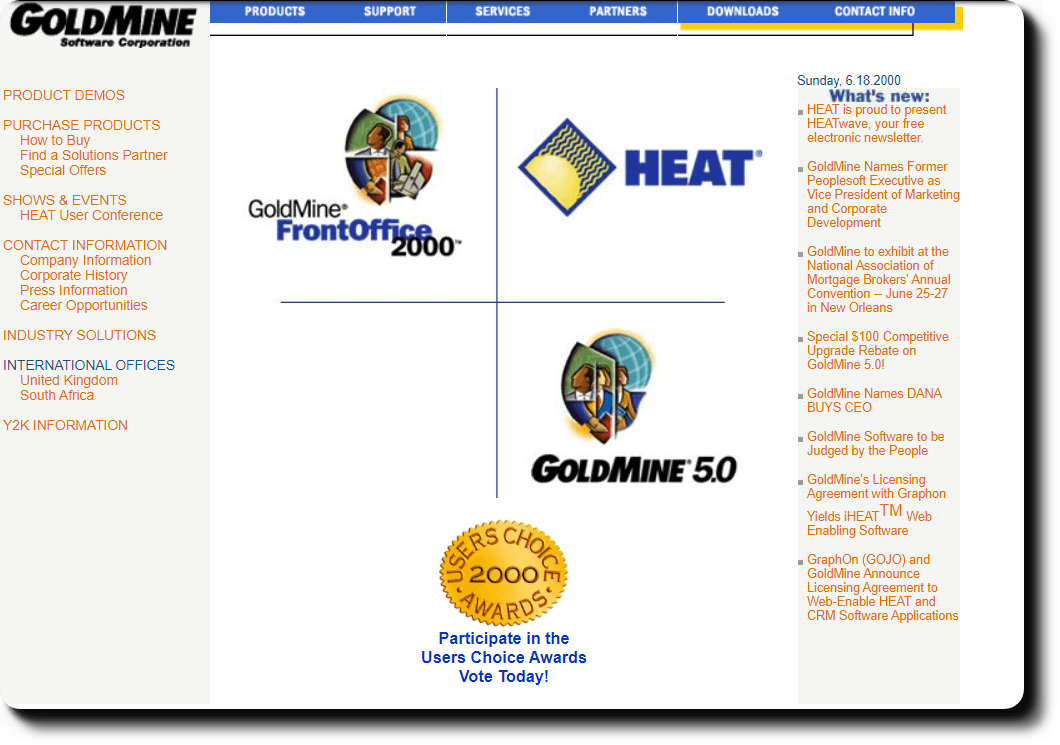 Goldmine Software Corporation Home Page