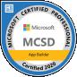 MCSD certificate microsoft