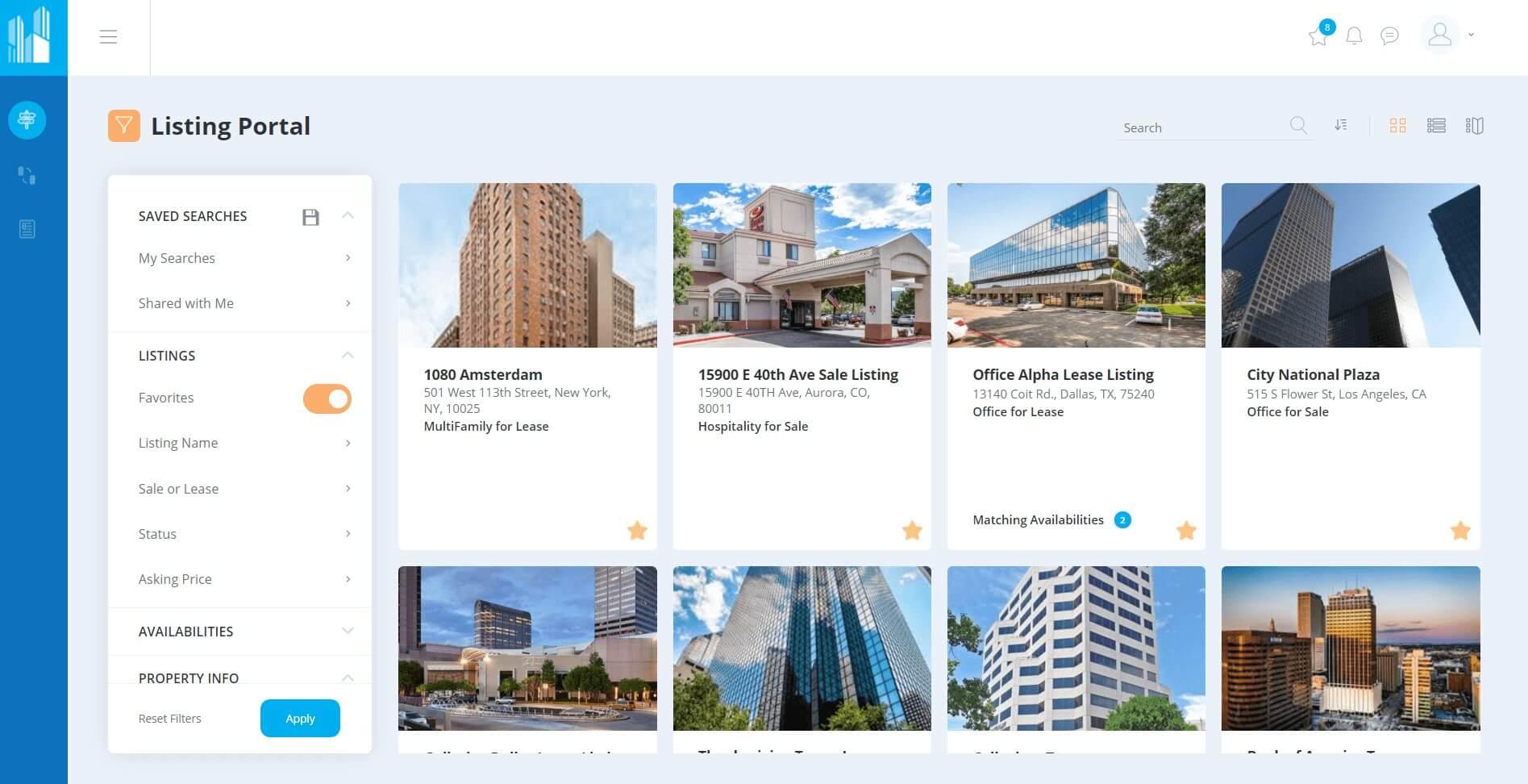 MarketSpace-by-Ascendix-Property-Listings-Portal-Overview