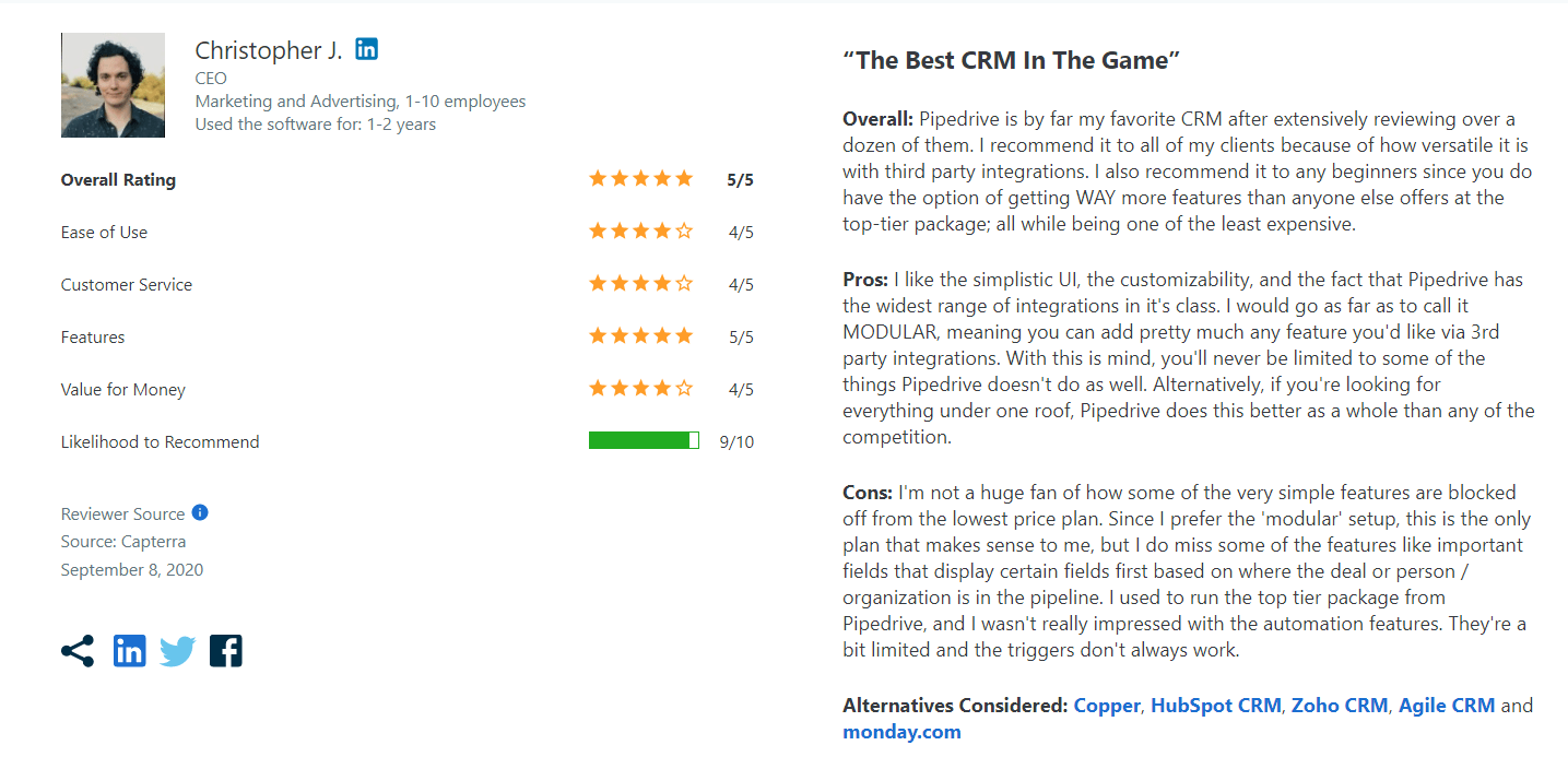 Pipedrive-CRM-Pros-Review