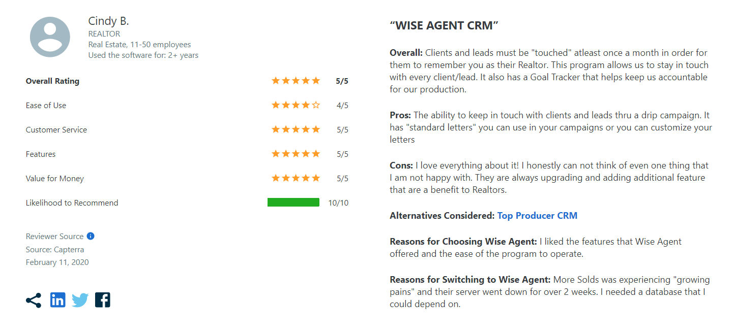 Wise-Agent-CRM-review