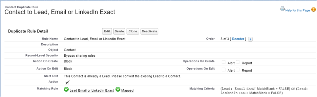 Contact-to-Lead-Email-or-LInkedIn-Exact-Duplicate-Rules-in-Salesforce