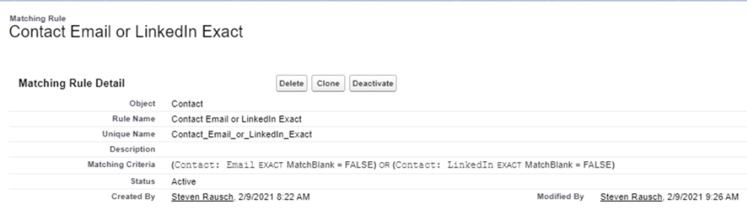 How-to-create-Contact-Email-or-LinkedIn-Exact-Matching-Rule-in-Salesforce