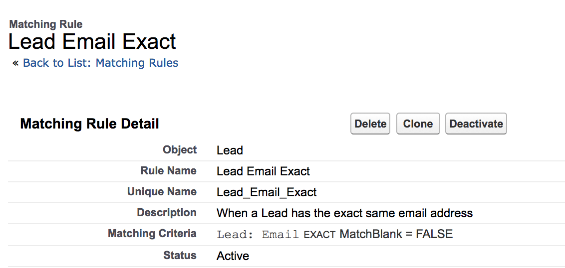 How-to-create-Lead-Email-Exact-Matching-Rule-in-Salesforce