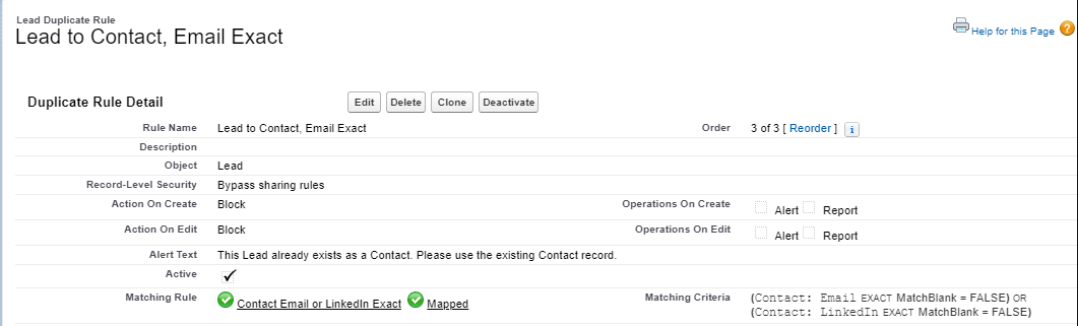 How-to-create-Lead-to-Contact-Email-or-LinkedIn-Exact-Duplicate-Rule-in-Salesforce