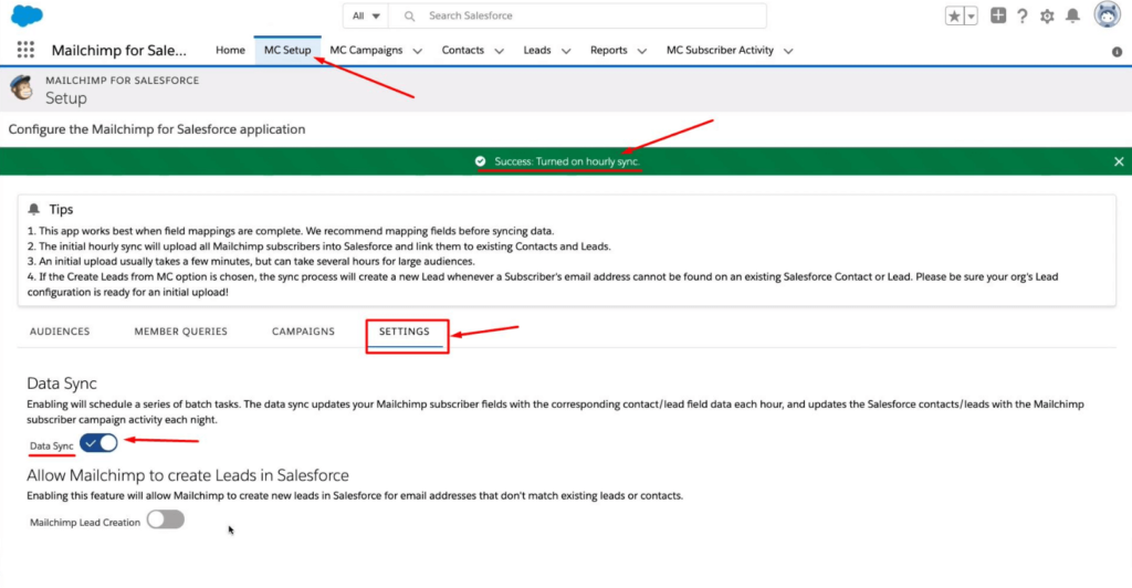 How-to-set-up-an-hourly-sync-in-Mailchimp-for-Salesforce