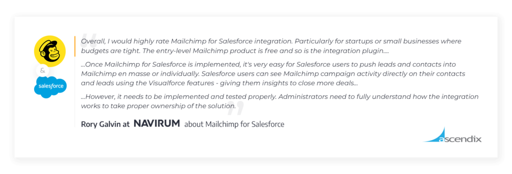 Mailchimp-Salesforce-Integration-Review