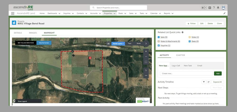 Mapright-and-AscendixRE-Land Integration