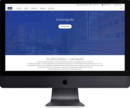 How We Helped Colliers Indiana Attract Top Brokers Thanks to Their CRM