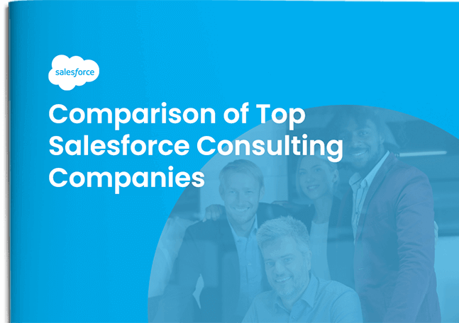 Cover Comparison of Top Salesforce Consulting Companies