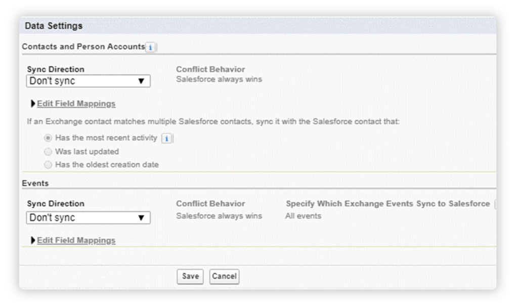 Enabling Enhanced Email with Lightning for Outlook