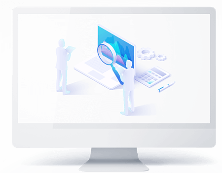 Enterprise Application Support Ascendix white imac
