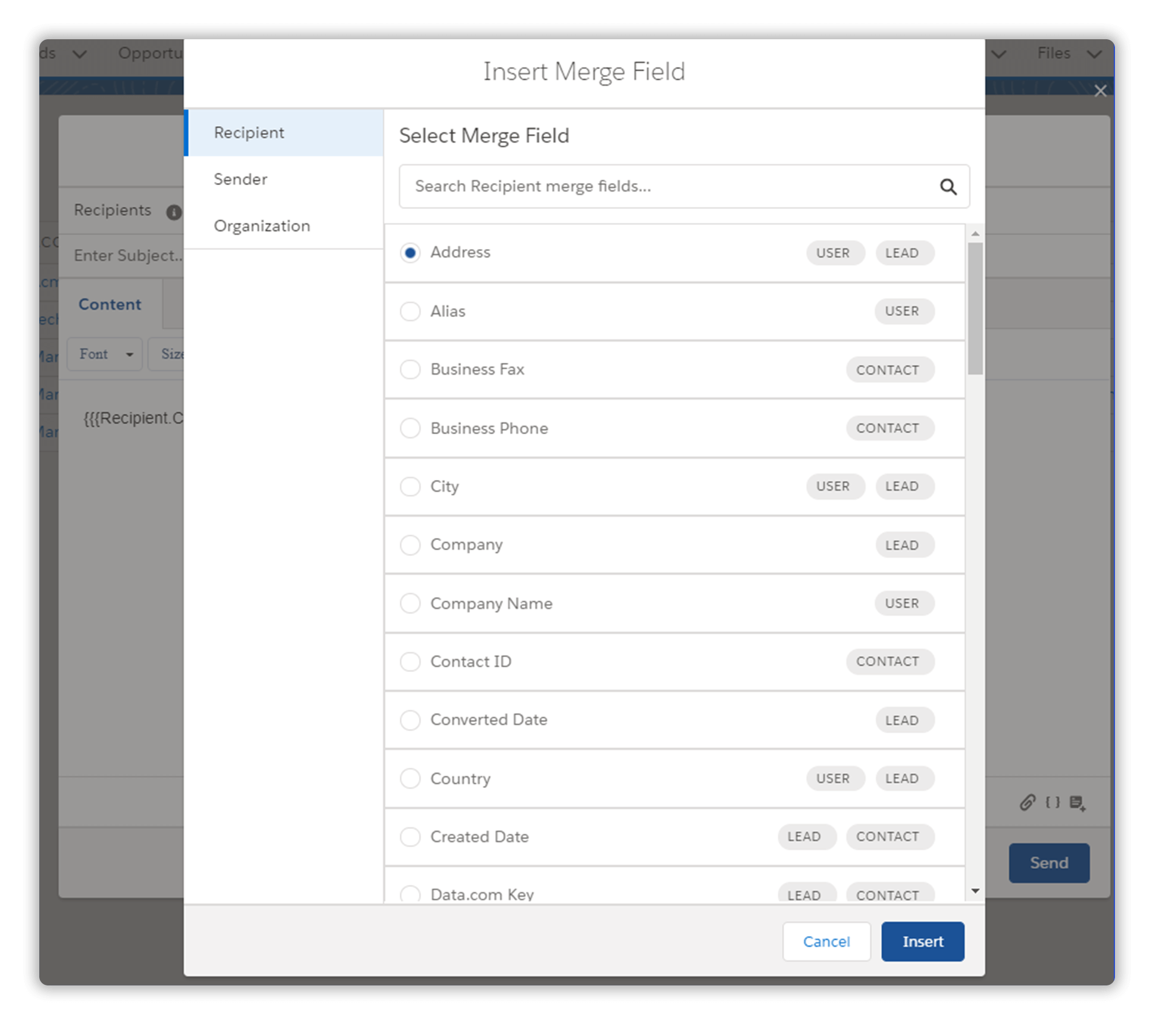 How to Merge Fields to Send Mass Email in Salesforce