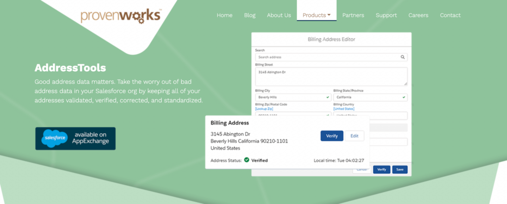 AddressTools Home Page