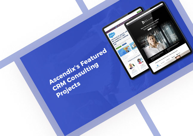 Cover Ascendix Featured CRM Consulting Projects
