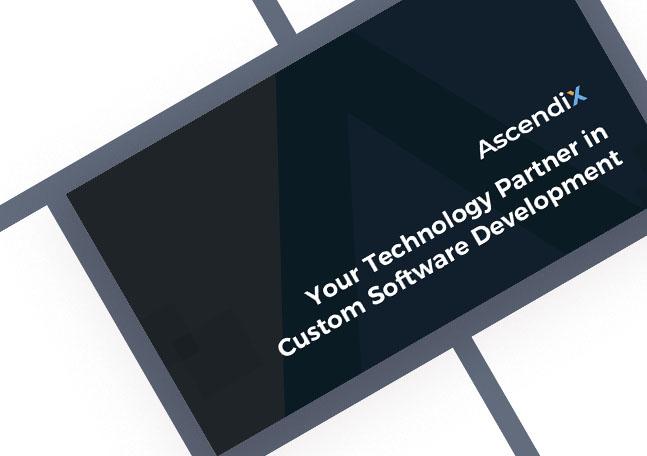 Cover Ascendix Professional Services Overview Custom Software Development