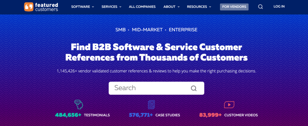 FeaturedCustomers Home Page