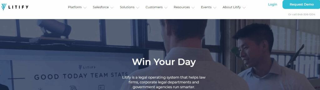 Litify a CRM for legal services Ascendix